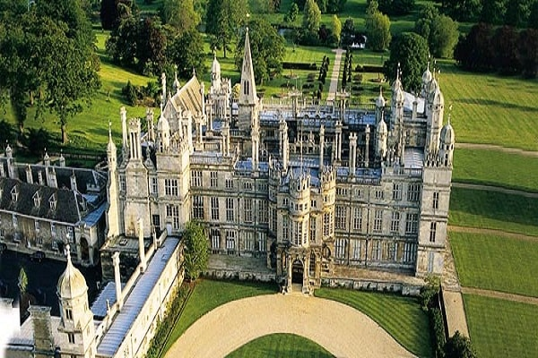 Burghley House In Peterborough